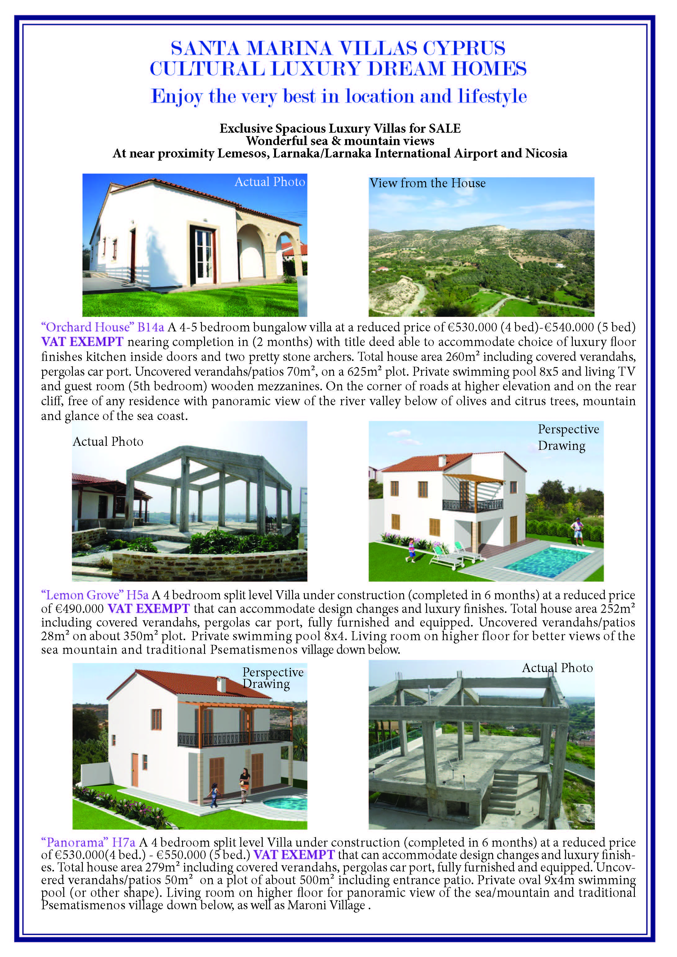 Santa Marina Cyprus Luxury Dream homes Page 2